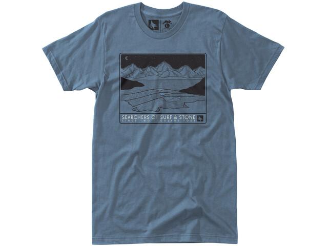 Hippy Tree Bluffside T-paita Miehet, steel blue